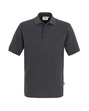 Polo Hakro Performance anthrazit Herren