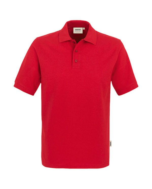 Polo Hakro Performance rot Herren