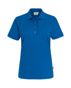 Polo Hakro Performance royalblau Damen