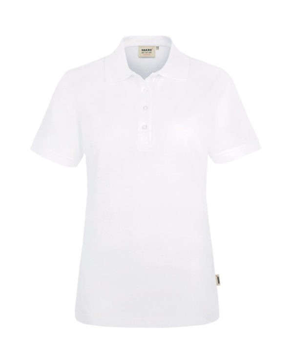 Polo Hakro Performance weiss Damen