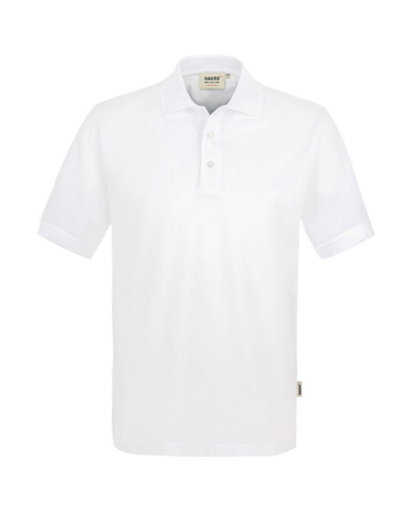 Polo Hakro Performance weiss Herren