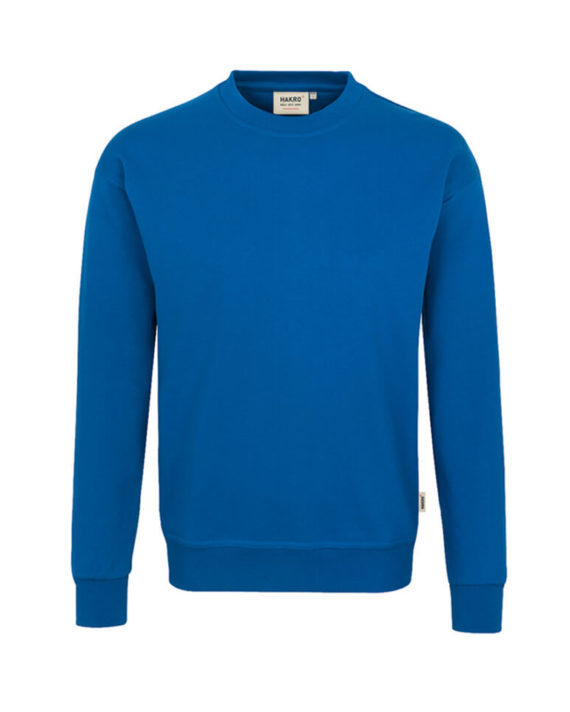 Sweatshirt Hakro Performance royalblau Herren