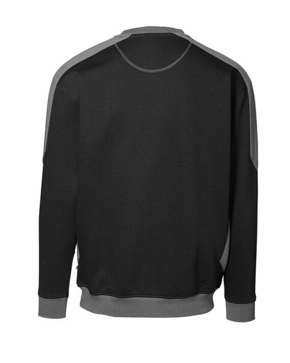 Sweatshirt ID Pro Wear Kontrast schwarz_grau Herren 3