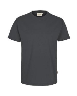 Arbeitskleidung T-Shirt Hakro Performance anthrazit für Herren Frontansicht