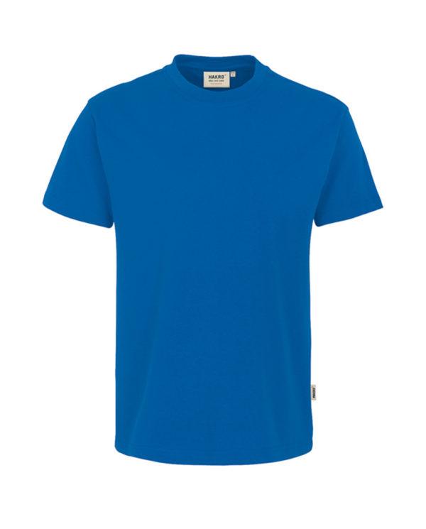Arbeitskleidung T-Shirt Hakro Performance royalblau für Herren Frontansicht