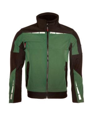 Arbeitsjacke Dickies Pro Softshell grün & schwarz Herren