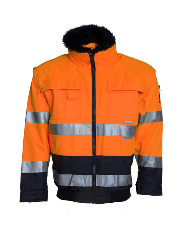 Warnjacke Planam Comfort orange