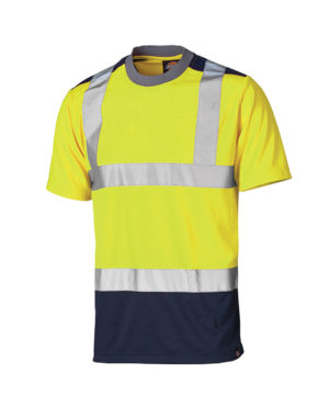 Warnschutz T-Shirt Dickies Hi Vis gelb Herren