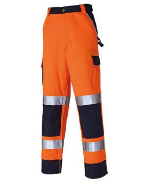Warnschutzhose Dickies Hi Vis Industry orange Herren