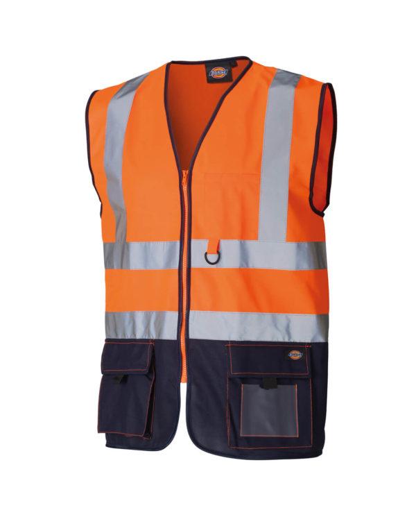 Warnschutzweste Dickies Hi Vis Industry orange Herren